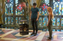"SHADOWHUNTERS - ""Moo Shu To Go"" - Alec finds himself torn between duty and loyalty to Jace in ""Moo Shu to Go,"" an all-new episode of ""Shadowhunters,"" airing Tuesday, February 9th at 9:00 – 10:00 p.m., EST/PST on Freeform, the new name for ABC Family. (Freeform/Sven Frenzel) MATTHEW DADDARIO, KATHERINE MCNAMARA"