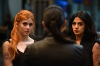 "SHADOWHUNTERS - ""Moo Shu To Go"" - Alec finds himself torn between duty and loyalty to Jace in ""Moo Shu to Go,"" an all-new episode of ""Shadowhunters,"" airing Tuesday, February 9th at 9:00 – 10:00 p.m., EST/PST on Freeform, the new name for ABC Family. (Freeform/John Medland) KATHERINE MCNAMARA, EMERAUDE TOUBIA"