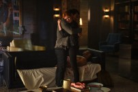 """SHADOWHUNTERS - """"Of Men and Angels"""" - Magnus and Luke reveal Clary's past in """"Of Men and Angels,"""" an all-new episode of """"Shadowhunters,"""" airing Tuesday, February 16th at 9:00 – 10:00 p.m., EST/PST on Freeform, the new name for ABC Family. (Freeform/John Medland) MATTHEW DADDARIO, KATHERINE MCNAMARA"""