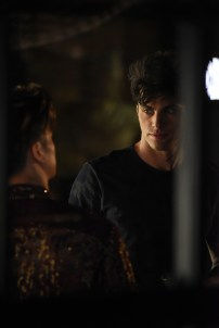 """SHADOWHUNTERS - """"Of Men and Angels"""" - Magnus and Luke reveal Clary's past in """"Of Men and Angels,"""" an all-new episode of """"Shadowhunters,"""" airing Tuesday, February 16th at 9:00 – 10:00 p.m., EST/PST on Freeform, the new name for ABC Family. (Freeform/John Medland) HARRY SHUM JR., MATTHEW DADDARIO"""