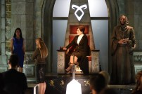 "SHADOW HUNTERS - ""Blood Calls to Blood"" - With the help of a new ally, Clary and Jace attempt to rescue Jocelyn in ""Blood Calls to Blood,"" an all-new episode of ""Shadowhunters,"" airing TUESDAY, MARCH 22 (9:00-10:00 p.m. EDT) on Freeform. (Freeform/John Medland) EMERAUDE TOUBIA, MIMI KUZYK, STEPHEN R. HART"