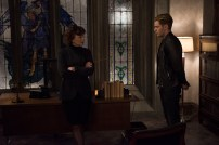 """SHADOWHUNTERS - """"Those of Demon Blood"""" - After several Shadowhunters are killed, The Institute turns to controversial methods to prevent a Downworlder uprising in ÒThose of Demon Blood,Ó an all-new episode of ÒShadowhuntersÓ airing Tuesday, June 19 (8:00 - 9:00 PM ET/PT). (Freeform/John Medland) MIMI KUZYK, DOMINIC SHERWOOD"""
