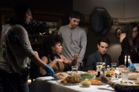"SHADOWHUNTERS - ""Day of Atonement"" - Jace and Clary go on an unsanctioned mission, while Maia helps Simon out at a Yom Kippur family dinner in ÒDay of Atonement,Ó an all new episode of ÒShadowhuntersÓ airing on Monday, July 17th at 8:00 - 9:00 PM ET/PT. (Freeform/John Medland) ALISHA WAINWRIGHT, PAUL WESLEY (DIRECTOR), ALBERTO ROSENDE"