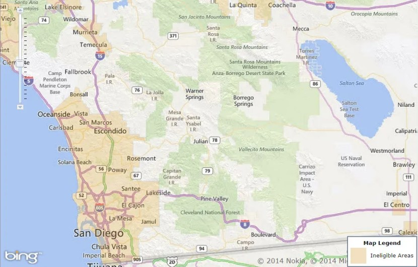 USDA Map
