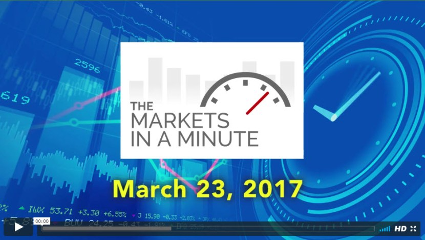 The Markets In a Minute March 23