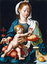 200px-Mother_with_child_by_Joos_van_Cleve