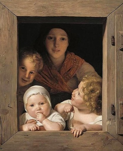 cropped-window-free-ferdinand_georg_waldmc3bcller_-_young_peasant_woman_with_three_children_at_the_window_-_wga25428.jpg