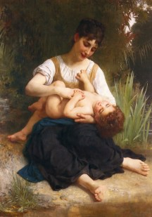 William Bouguereau - A Mother_s Joys _1878_