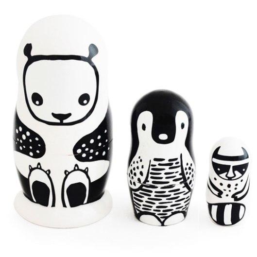£29.95 Animal Nesting Dolls