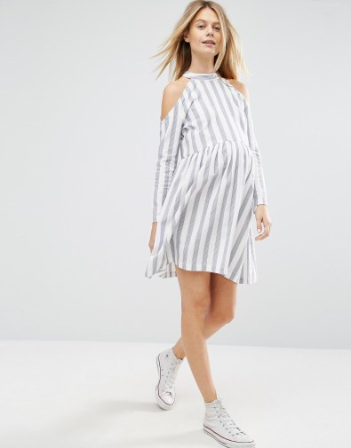 Stripe dress £32 - 20%