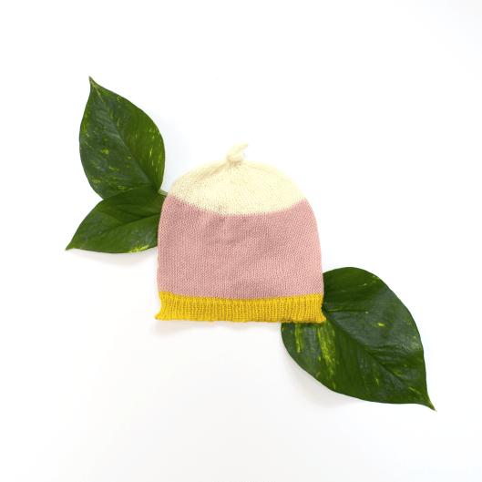 Pink Block Hat