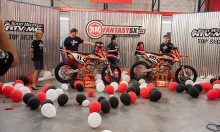Top RMFantasySX Winners Presented With KTM 450 SX-F & 250SX-F Dirt Bikes