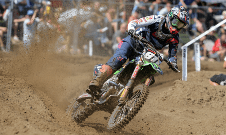 ADAM STERRY TWICE TOP TEN IN BELGIUM