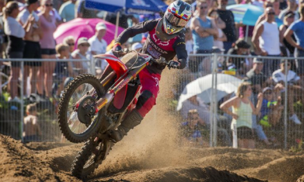 Top-seven result for Gajser at Lommel