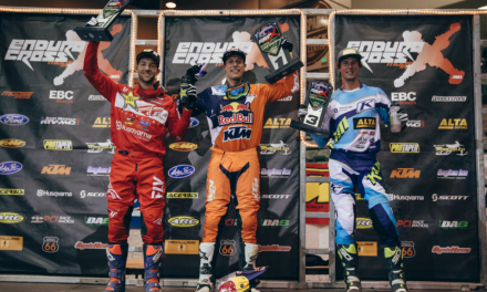 Webb Rebounds to Win Reno EnduroCross