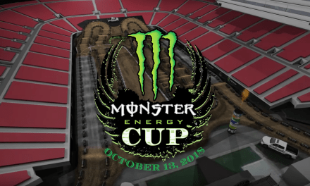 Animated Track Map – Monster Cup 2018