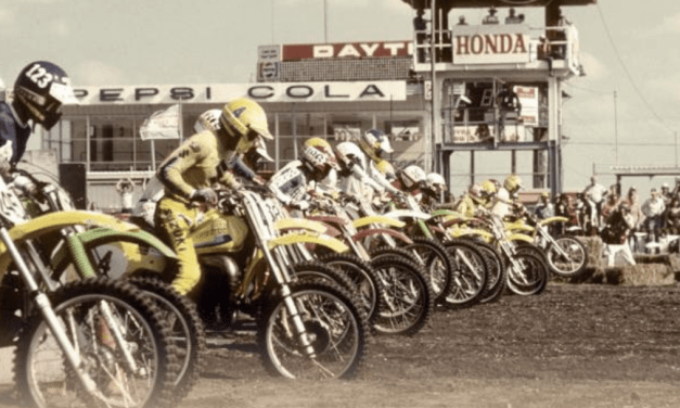 Inaugural Daytona Vintage Supercross Held in Conjunction with Ricky Carmichael Daytona Supercross on Tuesday, March 12