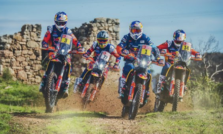 RED BULL KTM SET FOR DAKAR 2019