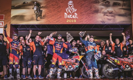 TOBY PRICE TAKES KTM TO 18TH CONSECUTIVE DAKAR VICTORY