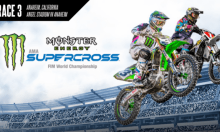 Monster Energy Supercross Results – Anaheim 2