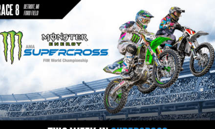 This Week in Monster Energy Supercross: Round 8 in Detroit