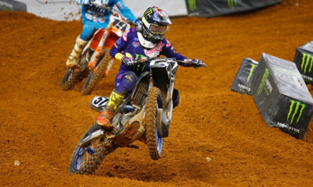 Barcia and Plessinger Overcome Adversity At Arlington To Take Another Top-10 Finish