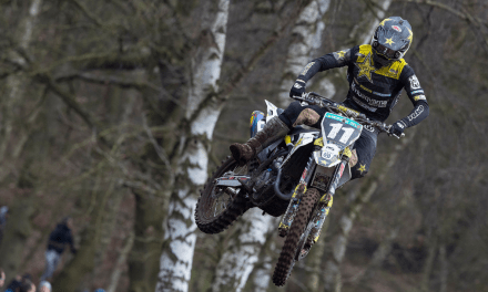 ROCKSTAR ENERGY HUSQVARNA FACTORY RACING OUT IN FORCE AT HAWKSTONE INTERNATIONAL MX 2019