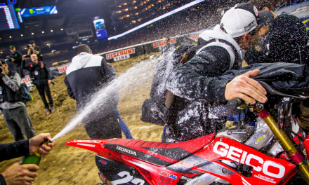 Geico Honda Detroit Supercross Report