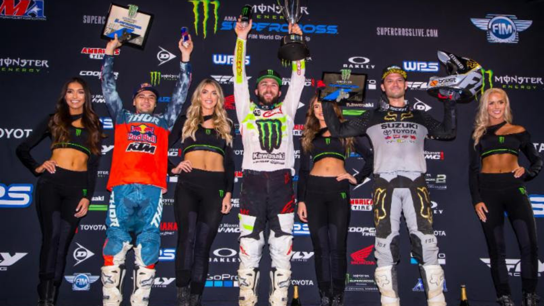 Eli Tomac Grabs His Second 450SX Class Win