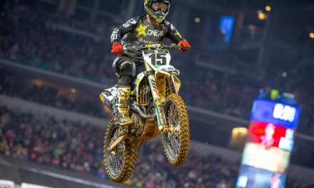 ROCKSTAR ENERGY HUSQVARNA FACTORY RACING'S DEAN WILSON 8TH AT ARLINGTON SX