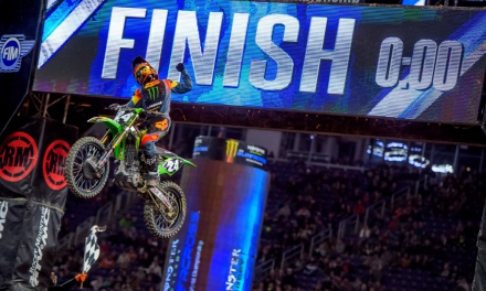 MONSTER ENERGY®/PRO CIRCUIT/KAWASAKI RIDER AUSTIN FORKNER WINS OPENING ROUND OF 250SX EASTERN REGIONAL CHAMPIONSHIP
