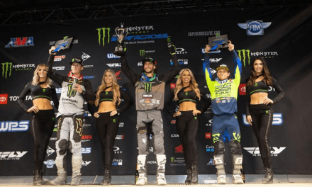 DECOTIS & SUZUKI PODIUM AT SEATTLE SUPERCROSS