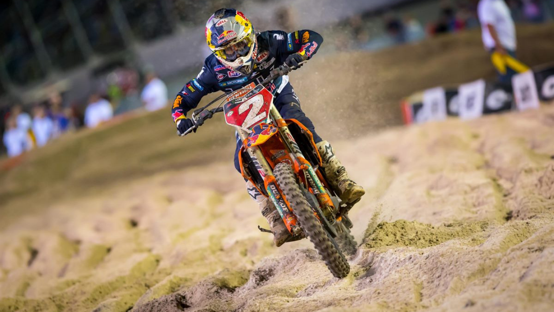 WEBB MAINTAINS 450SX POINTS LEAD WITH RUNNER-UP FINISH AT DAYTONA