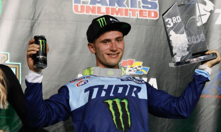 Cooper Grabs Another Podium, Oldenburg Finishes Fourth in 250SX East at Daytona