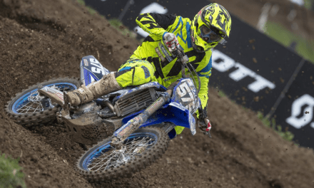 TAYLOR HAMMAL RIDES TOUGH IN MX2 AT MATTERLY BASIN