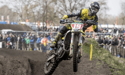 KJER-OLSEN EXTENDS MX2 WORLD CHAMPIONSHIP LEAD WITH RUNNER-UP RESULT IN THE NETHERLANDS
