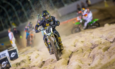 ROCKSTAR ENERGY HUSQVARNA FACTORY RACING'S ZACH OSBORNE BREAKS THROUGH FOR A 450SX CAREER-BEST OF SIXTH AT DAYTONA