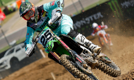 CLEMENT DESALLE THIRD IN THE MXGP WORLD SERIES