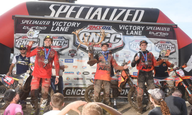 Kailub Russell Earns Third Win of Season at X-Factor Whitetails GNCC