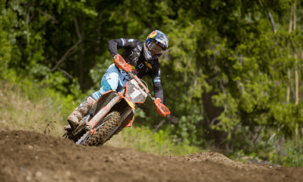 KTM RED BULL THOR FACTORY RACE TEAM MEMBERS THOMPSON, WARD AND PETTIS WITH IMPRESSIVE PERFORMANCES AT RD2 OF THE TRIPLE CROWN MX SERIES IN PRINCE GEORGE, BC