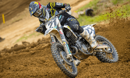ANDERSON PUTS ROCKSTAR ENERGY HUSQVARNA FACTORY RACING TEAM ON THE PODIUM AT HIGH POINT