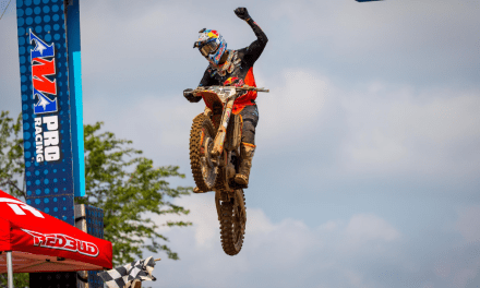 MUSQUIN FIGHTS BACK TO CLAIM A PODIUM FINISH AT REDBUD NATIONAL