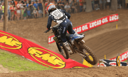 Monster Energy Star Yamaha Racing Come Out of Sandy Southwick With Double Podium