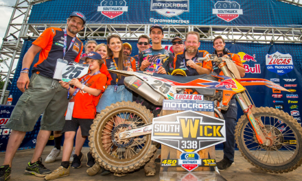 MUSQUIN TAKES THE OVERALL AT SOUTHWICK MX NATIONAL