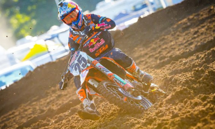 TOUGH LUCK FOR MUSQUIN AT THE PRO MOTOCROSS SEASON FINALE
