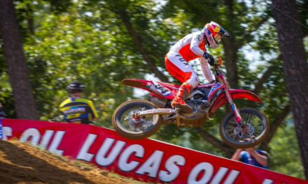 Roczen Finishes Fourth Overall at Budds Creek National