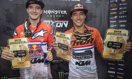 HERLINGS & COLDENHOFF END 2019 WITH MOTOCROSS OF NATIONS VICTORY