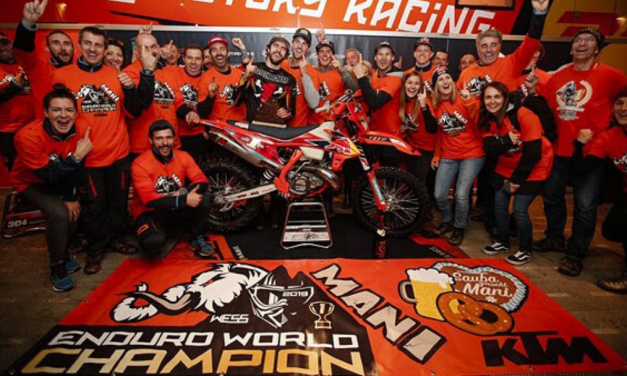 MANUEL LETTENBICHLER CROWNED 2019 WESS ENDURO WORLD CHAMPION!