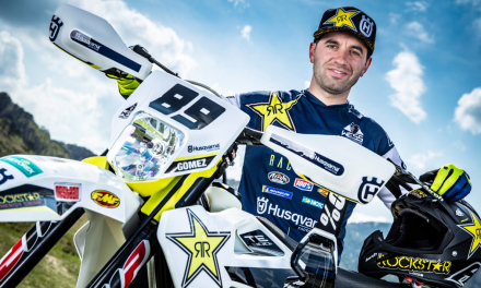 HUSQVARNA MOTORCYCLES EXTEND CONTRACT WITH ALFREDO GOMEZ