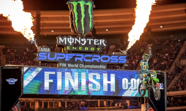 MONSTER ENERGY® KAWASAKI'S ELI TOMAC CAPTURES FIRST 450SX WIN OF THE SEASON AT ROUND 3